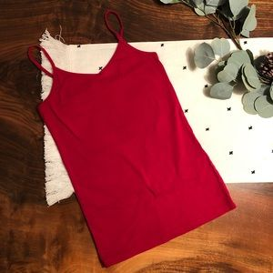 Soft, Red Forever21 Cami Tank Top